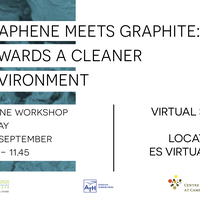 Graphene meets Graphite: towards a cleaner environment
